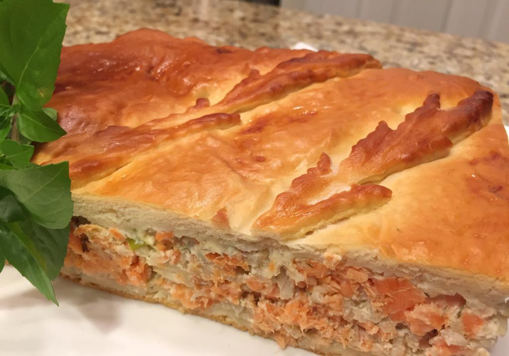пуговица рецепты рыбного пирога с фото особо хотел