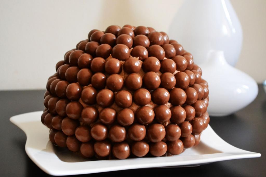 Торт золотые шарики рецепт с фото