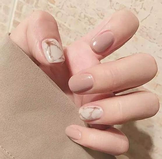 Neat manicure