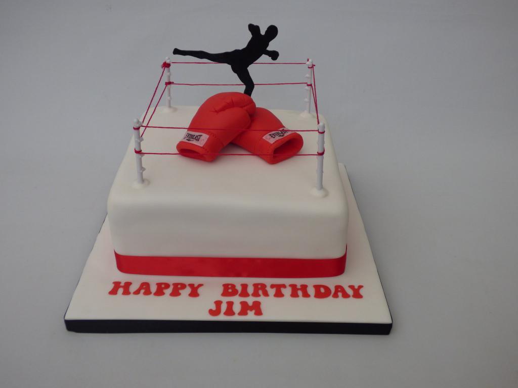 торт на тему бокс фото постарше иногда