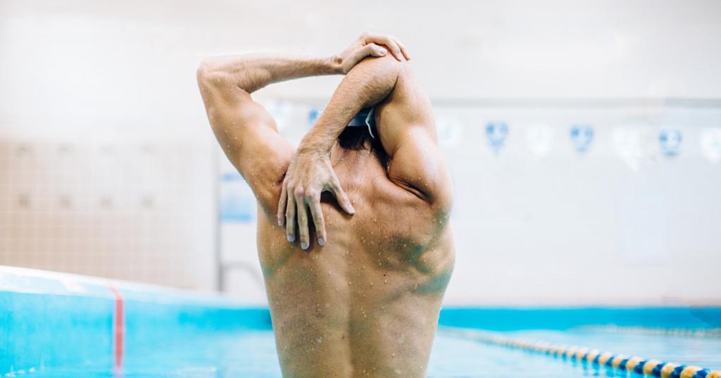Плавание для похудения мужчина