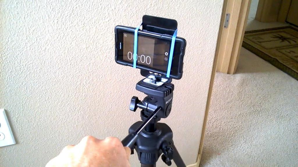 как закрепить телефон для фотосъемки