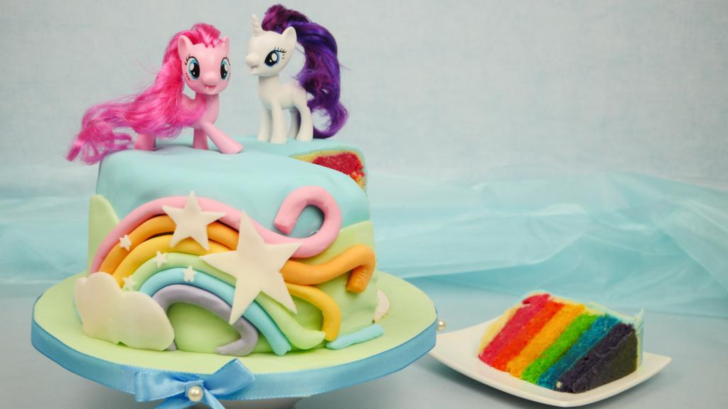 Торт с популярными персонажами