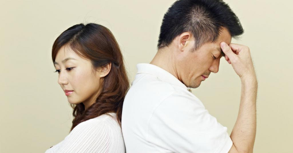The husband found out about the betrayal of his wife