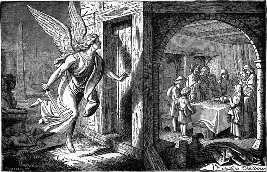 Angel of death in passover