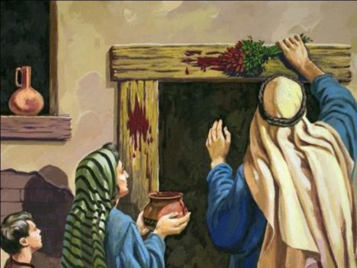Passover on the door