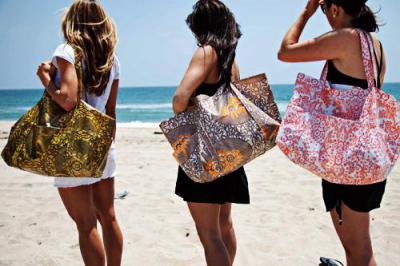 6628147cd7d73c Две пляжные сумки. Своими руками создаем красоту