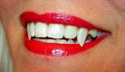 Как сделать вампирские клыки в домашних условиях фото 398