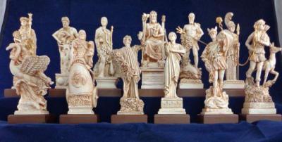 Древнегреческие богини богатства и красоты имена
