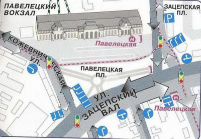 Павелецкий вокзал станция метро схема фото 324