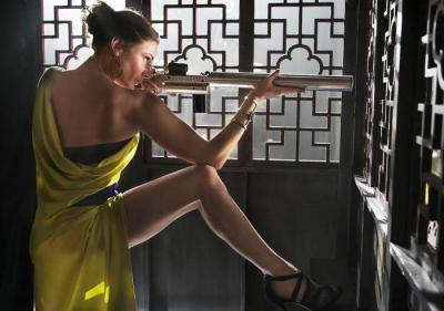 Сексуальная Ребекка Фергюсон Переодевается – Миссия Невыполнима: Племя Изгоев (2020)