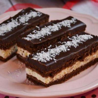 """Пирожные а-ля """"Киндер-Дэлис"""" – кулинарный рецепт"""