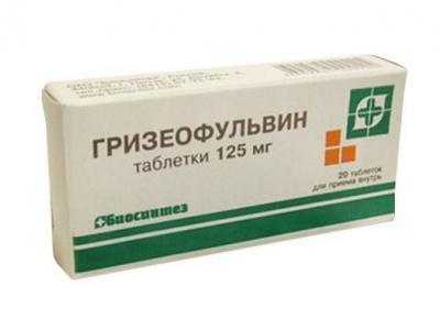 Противогрибковый антибиотик Гризеофульвин: отзывы, инструкция по применению, противопоказания и аналоги