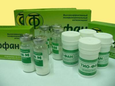 Тиофан м»: отзывы онкологов о препарате.