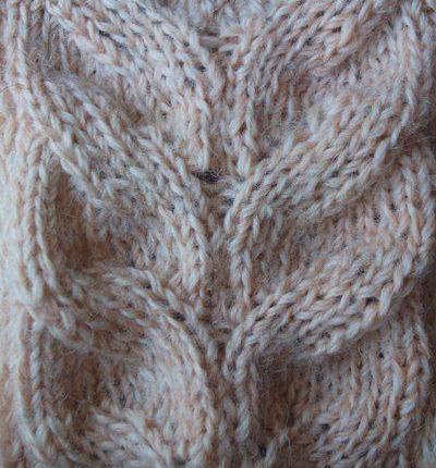 схемы вязания шапок с косами спицами с описанием узоры для вязания