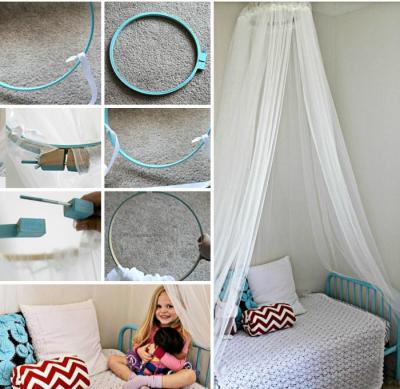 Как сделать балдахин над кроватью фото 73