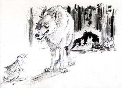 анализ сказки бедный волк салтыков щедрин