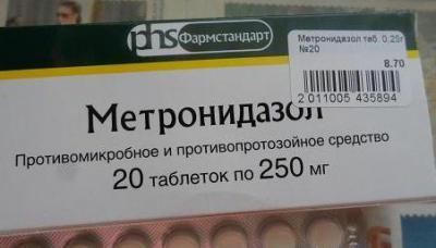 Алкоголь после приема метронидазол когда можно