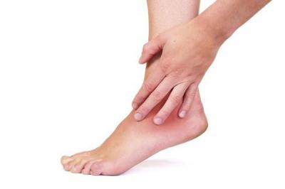 Боль при разгибании голеностопного сустава