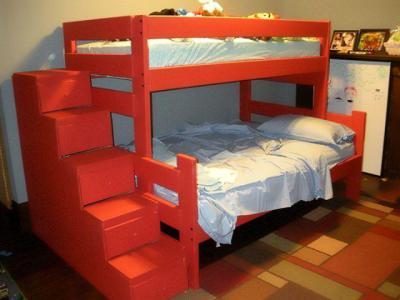 Лестница для двухъярусной кровати своими руками 491
