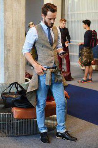 151aab8e Какую обувь носить мужчинам с джинсами и рубашкой?