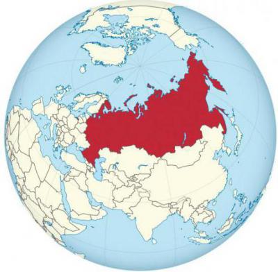сколько процентов земного шара занимает россия