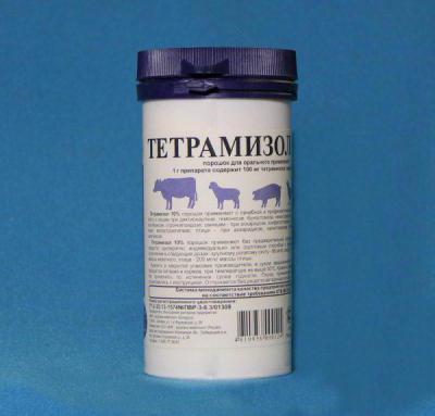 Препарат «тетрамизол 10»: инструкция по применению для птиц.