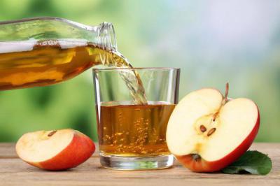 Сколько килокалорий в яблочном соке