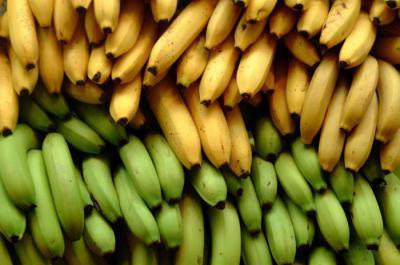 какой банан полезнее зеленый или желтый