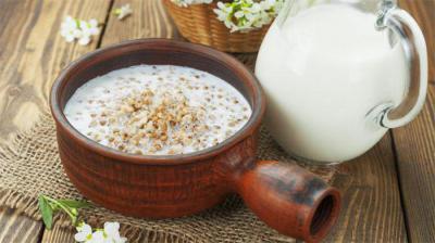Как можно похудеть на гречке с молоком.