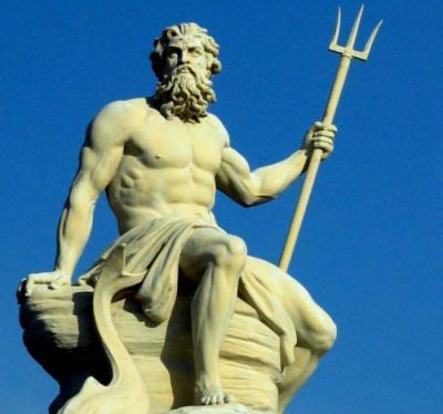Древнегреческое божество морей