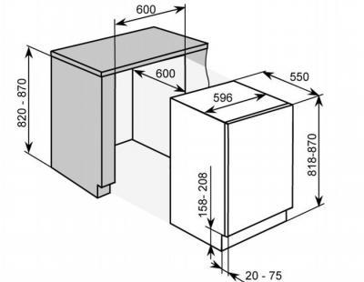 холодильник двухдверный размеры характеристики виды