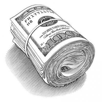 как нарисовать бумажные деньги для игры