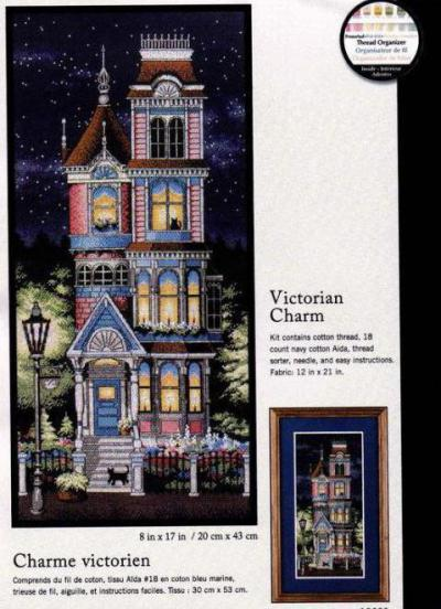 c77e6087512824 Существует примета «Викторианского шарма»: если вышить эту картину, в семье  обязательно улучшатся жилищные условия. Именно поэтому, несмотря на  достаточно ...
