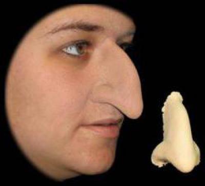 Как сделать нос бабы яги из папье 221