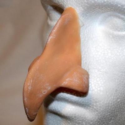 Как сделать нос бабы яги из папье 686