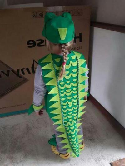 Костюм крокодила своими руками фото 853