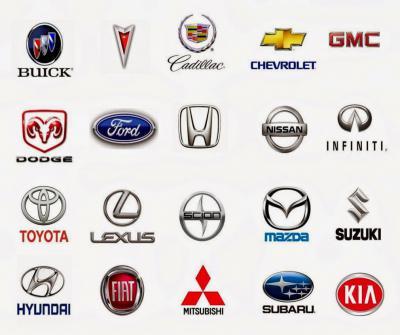 марки автомобилей значки и названия фото