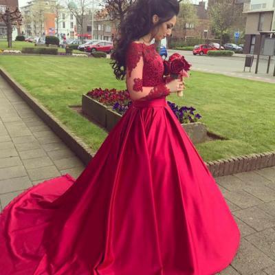 d79fde0b6fb красивое пышное платье красного цвета