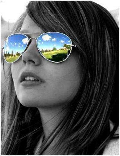 очки солнцезащитные женские капельки ff150a888b140