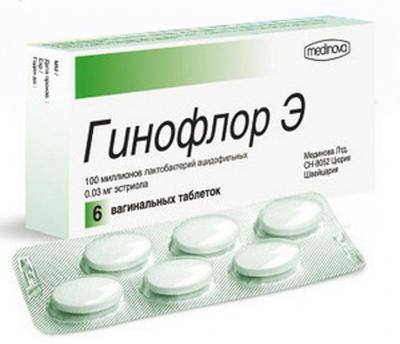 Вагинальный дисбактериоз гинофлор