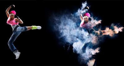 Как сделать эффект дыма фото 565