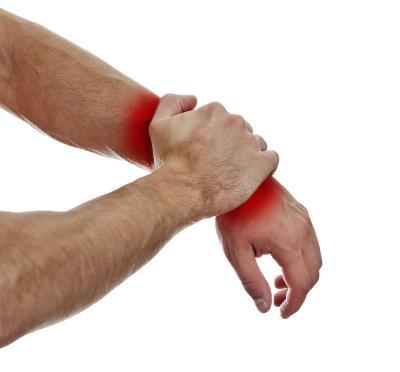 Симптомы растяжения связок лучезапясного сустава хроническое заболевание соединительной ткани суставов