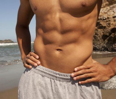 как убрать жир внизу живота мужчине