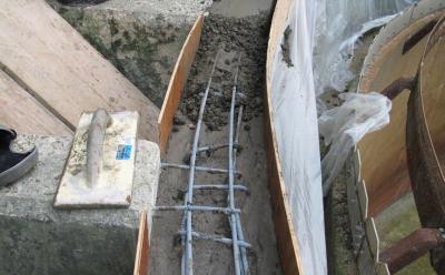 Полимерно цементным раствором купить круг по бетону