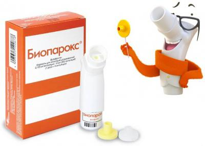 Спрей антибиотик от ангины