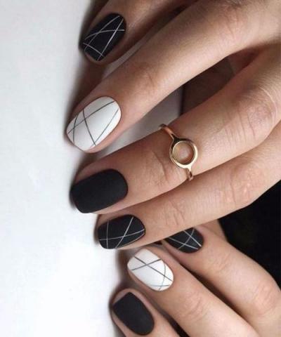 Маникюр На Квадратные Короткие Ногти Фото Дизайн