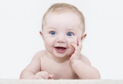 У младенца охрип голос