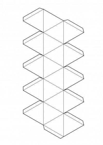 Как сделать из картона икосаэдр фото 746
