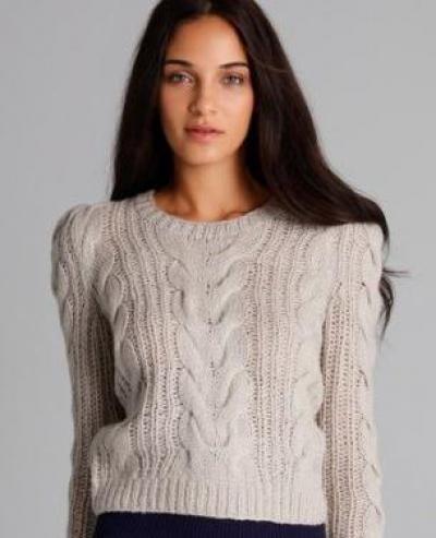 Схема свитера крупной вязкой фото 513